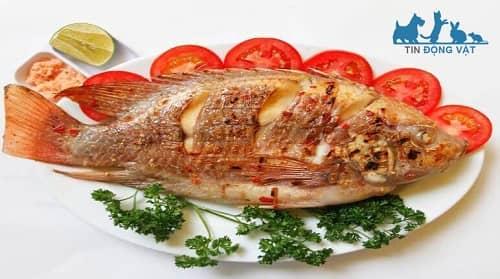 cá chép giòn nướng